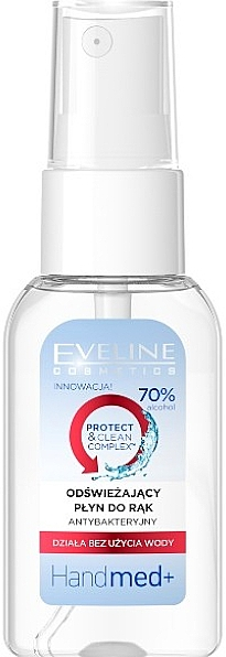 Spray mani antibatterico - Eveline Cosmetics Handmed+