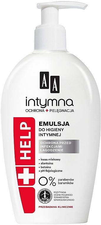 """Emulsione per l'igiene intima """"Protezione contro le infezioni"""" - AA Intimate Help+"""