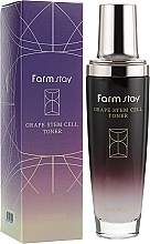 Profumi e cosmetici Tonico viso a base di fito cellule staminali dell'uva - FarmStay Grape Stem Cell Toner