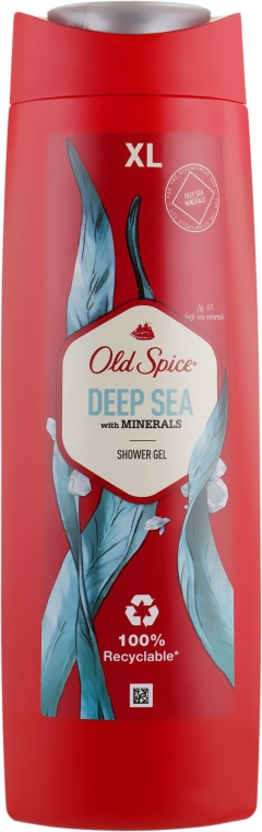 Gel doccia - Old Spice Deep Sea With Minerals Shower Gel