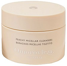 Profumi e cosmetici Dischetti detergenti viso - Omorovicza Peachy Micellar Cleansers