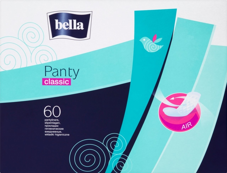 Assorbenti igienici Panty Classic, 60pz - Bella