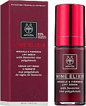 Profumi e cosmetici Siero lifting antirughe con polifenoli di vino di Santorini - Apivita Wine Elixir Wrinkle And Firmness Lift Serum