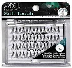 Profumi e cosmetici Ciglia finte a ciuffetti - Ardell Soft Touch Long Black