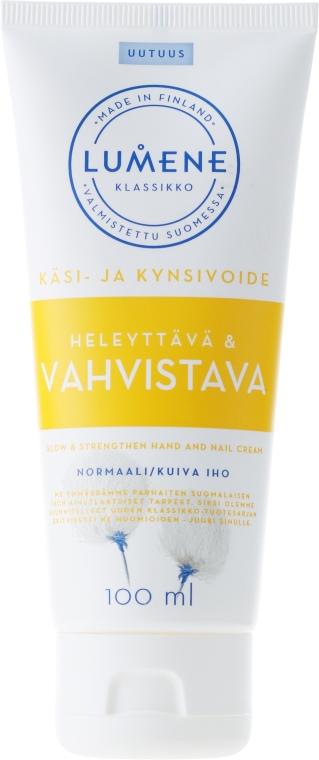 Crema mani e unghie rassodante - Lumene Klassikko Glow & Strengthen Hand & Nail Cream
