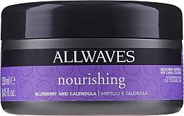Profumi e cosmetici Maschera nutriente post colorazione - Allwaves Blueberry And Calendula Nourishing Mask
