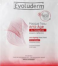 Profumi e cosmetici Maschera viso antietà - Evoluderm Anti-Age Sheet Mask