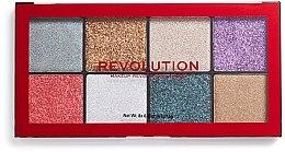 Profumi e cosmetici Palette di glitter - Makeup Revolution Halloween 2019 Pressed Glitter Palette