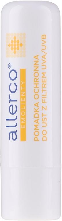 Rossetto protettivo con filtri UVA / UVB - Allerco Emolienty Molecule Regen7 Lip Balm SPF30 — foto N2