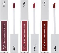Set rossetti liquidi opachi - Ofra Espresso Lip Set (lipstick/3x8g) — foto N2