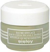 Profumi e cosmetici Balsamo contorno occhi e labbra - Sisley Baume Efficace Botanical Eye and Lip Contour Balm