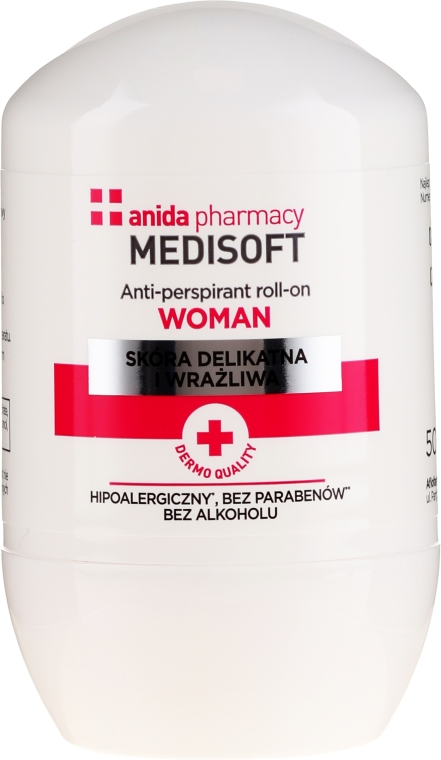 Antitraspirante - Anida Pharmacy Medisoft Woman Deo Roll-On