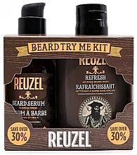 Profumi e cosmetici Set - Reuzel Clean & Fresh Beard Try Me Kit (serum/50g + shampoo/100ml )