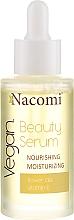 Profumi e cosmetici Siero viso idratante - Nacomi Beauty Serum Nourishing & Moisturizing Serum