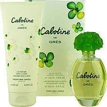 Profumi e cosmetici Gres Cabotine - Set (edt/100ml + b/lot/200ml)