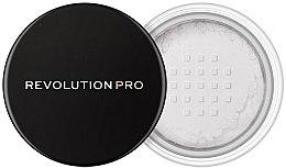 Profumi e cosmetici Cipria friabile trasparente - Makeup Revolution Pro Loose Finishing Powder