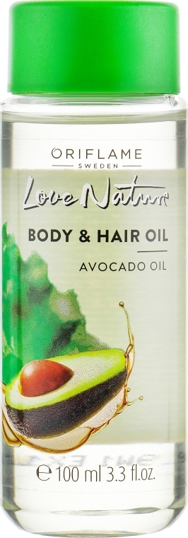 "Olio corpo e capelli ""Avocado"" - Oriflame Body & Hair Avocado Oil"