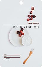 Profumi e cosmetici Maschera viso nutriente al burro di karité - Eunyu Daily Care Sheet Mask Shea Butter
