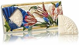 """Profumi e cosmetici Set di saponi naturali """"Bouquet di fiori"""" - Saponificio Artigianale Fiorentino Floral Bouquet Soap (3xsoap/100g)"""