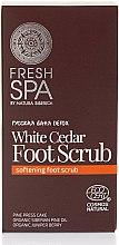 Profumi e cosmetici Scrub per i piedi - Natura Siberica Fresh Spa Russkaja Bania Detox White Cedar Foot Scrub