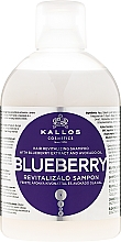 Profumi e cosmetici Shampoo rivitalizzante con estratto di mirtillo - Kallos Cosmetics Blueberry Hair Shampoo