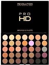 Profumi e cosmetici Palette ombretti occhi - Makeup Revolution Pro HD Palette Amplified 35