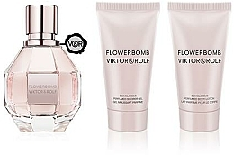 Profumi e cosmetici Viktor & Rolf Flowerbomb - Set (edp/50ml + sh/gel/50ml + b/lot/50ml)