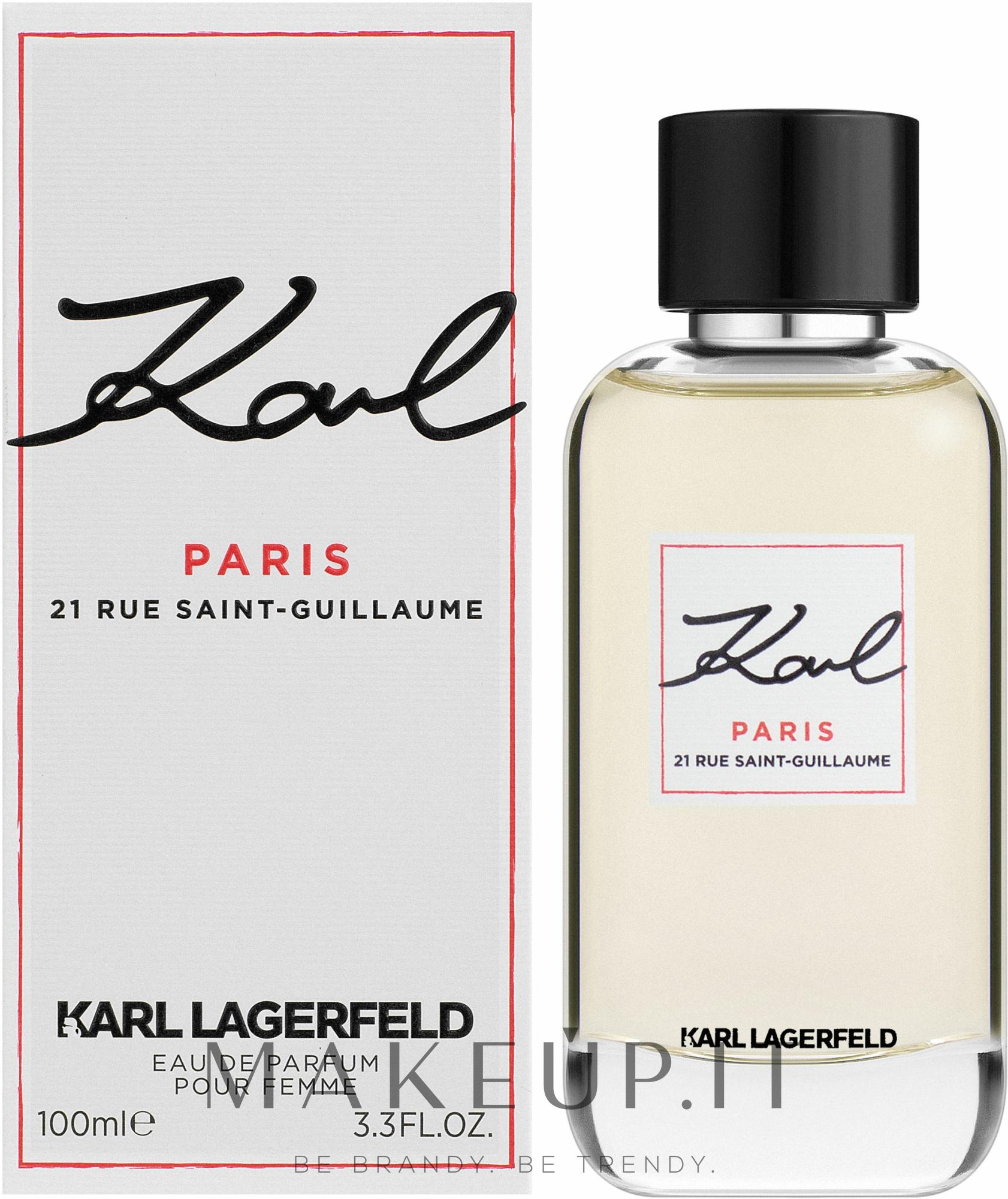 Karl Lagerfeld Paris - Eau de parfum — foto 100 ml