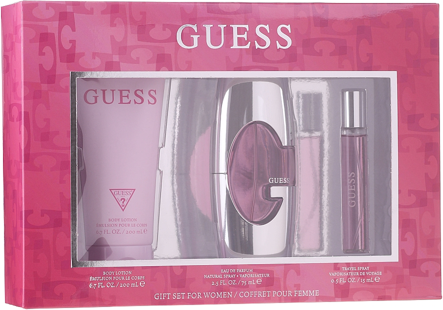 Guess Guess for Women - Set (edp/75ml + b/lot/200ml + edp/15ml)