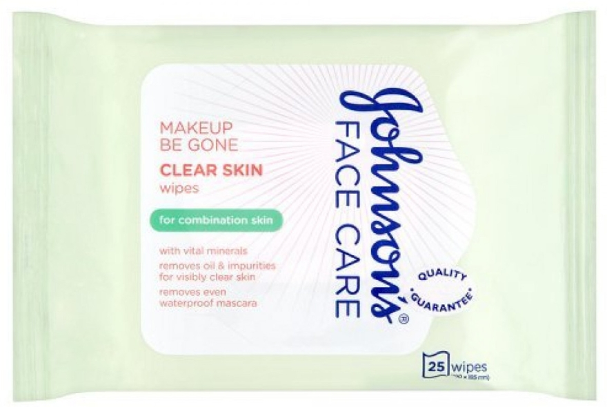 Salviette umidificate - Johnson's Face Care Clear Skin Wipes — foto N1