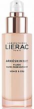 Profumi e cosmetici Fluido viso rivitalizzante e nutriente da notte - Lierac Arkeskin Night Fluide Nutri-redensifiant