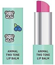 Profumi e cosmetici Balsamo labbra bicolore - Animal Two-Tone Lip Balm