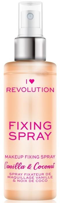 Spray fissante per il trucco - I Heart Revolution Fixing Spray Vanilla & Coconut