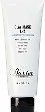 Profumi e cosmetici Maschera viso purificante all'argilla - Baxter of California Clay Mask AHA