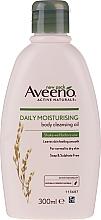 Profumi e cosmetici Olio detergente idratante per corpo - Aveeno Daily Moisturising Bath & Shower Oil