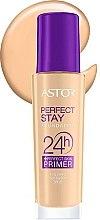 Profumi e cosmetici Fondotinta - Astor Perfect Stay Foundation 24h + Primer SPF20