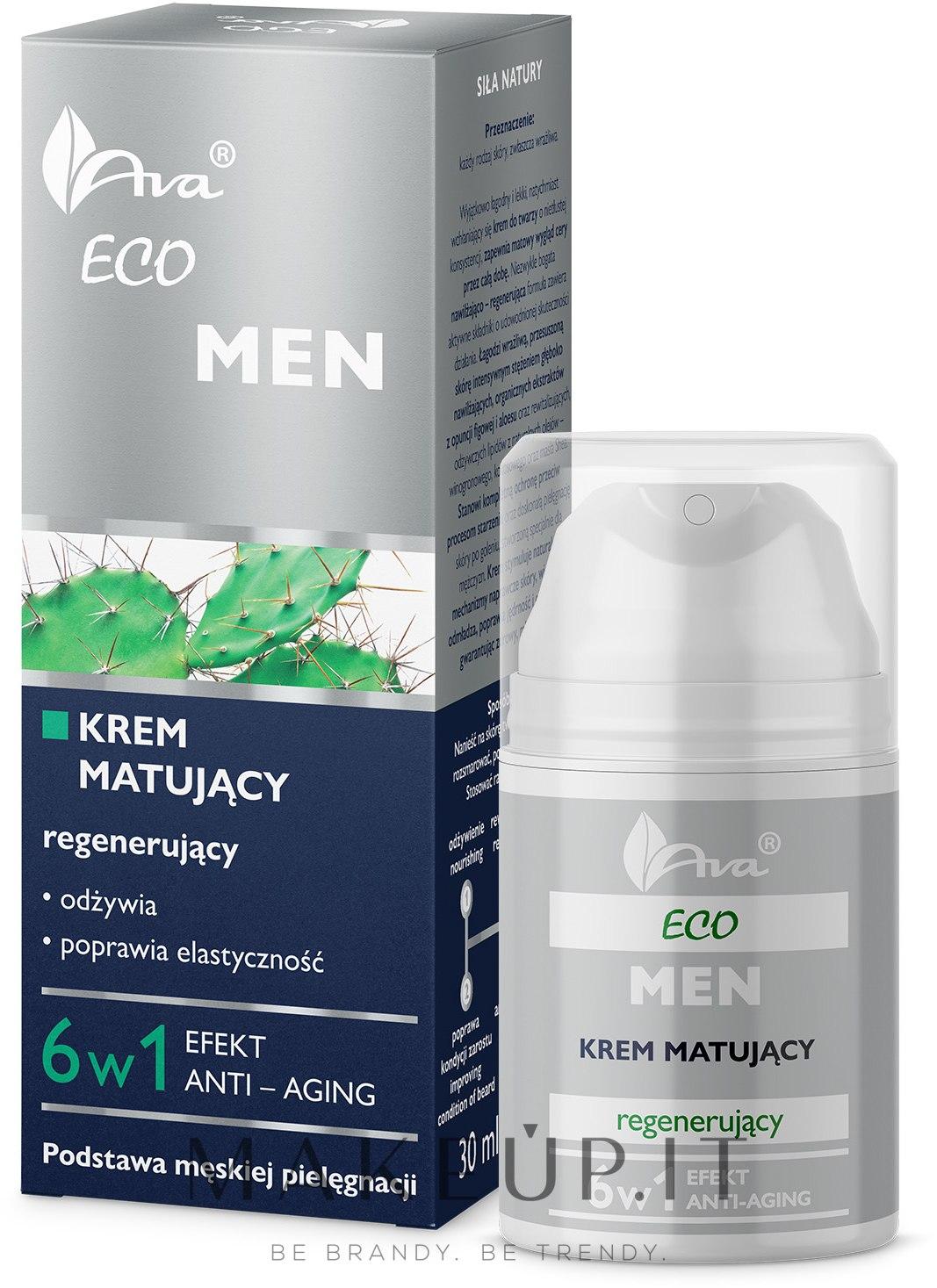 Crema viso opacizzante rigenerante - Ava Laboratorium Eco Men Cream — foto 50 ml