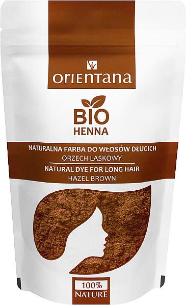 Hennè naturale per capelli lunghi - Orientana Bio Henna Natural For Long Hair (100 ml) — foto N4