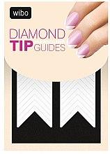 Profumi e cosmetici Adesivi per manicure francese - Wibo Diamond Manicure Tip Guides