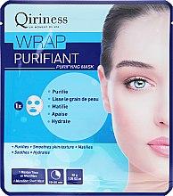Profumi e cosmetici Maschera detergente in tessuto - Qiriness Wrap Purifiant Mask