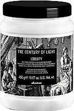 Profumi e cosmetici Polvere decolorante - Davines The Century of Light Liberty Free Hand Premium Hair Bleaching Powder