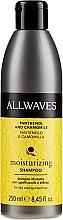 Profumi e cosmetici Shampoo per capelli al pantenolo e camomilla - Allwaves Moisturizing – Hydrating Panthenol And Chamomile Shampoo