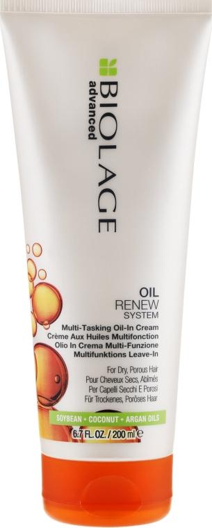 La crema per capelli porosi, senza risciacquo - Biolage Advanced Oil Renew Multi-Tasking