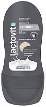Profumi e cosmetici Deodorante roll-on - Lactovit Men Invisible Deodorant Roll-On