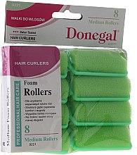 Profumi e cosmetici Bigodini in spugna per capelli 25 mm, 8 pz - Donegal Sponge Curlers