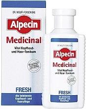 Profumi e cosmetici Tonico rivitalizzante per cuoio capelluto grasso - Alpecin Medical Fresh