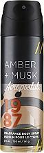 Profumi e cosmetici Spray corpo - Aeropostale Amber + Musk Fragrance Body Spray