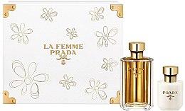 Profumi e cosmetici Prada La Femme Prada - Set (edp/100ml + b/lot/100ml)