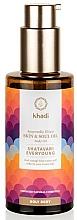 Profumi e cosmetici Olio elisir ayurvedico per corpo - Khadi Ayurvedic Elixir Skin & Soul Oil Shatavari Everyoung