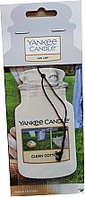 Profumi e cosmetici Profumo per auto - Yankee Candle Car Jar Clean Cotton